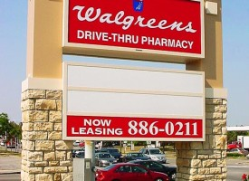 Walgreens Pylon Sign