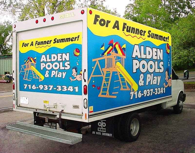 Alden Pools Ulrich Signs