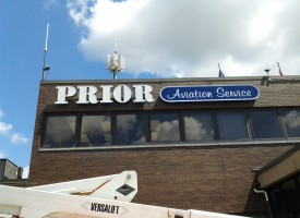 Prior Aviation Channel Letters