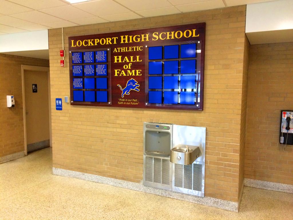 Lockport High School Ulrich Signs
